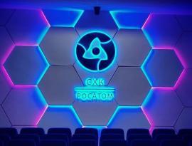 Комплексное оформление офиса, изготовление логотипов с подсветкой г. Томск