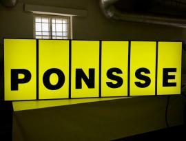 Производство световой вывески для PONSSE, г. Томск
