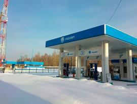 Офоромление заправочных станций «ГазОйл» в Томске
