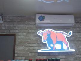 Изготовление лайтбокса сложной формы, световой короб заказть в Томске