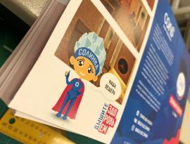 Печать рекламных материалов в Томске от компании Зонд-реклама
