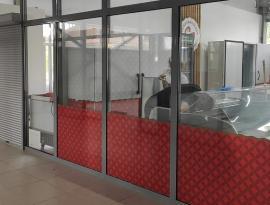 Нанесение аппликаций на стекло с монтажом в Богашево, город Томск